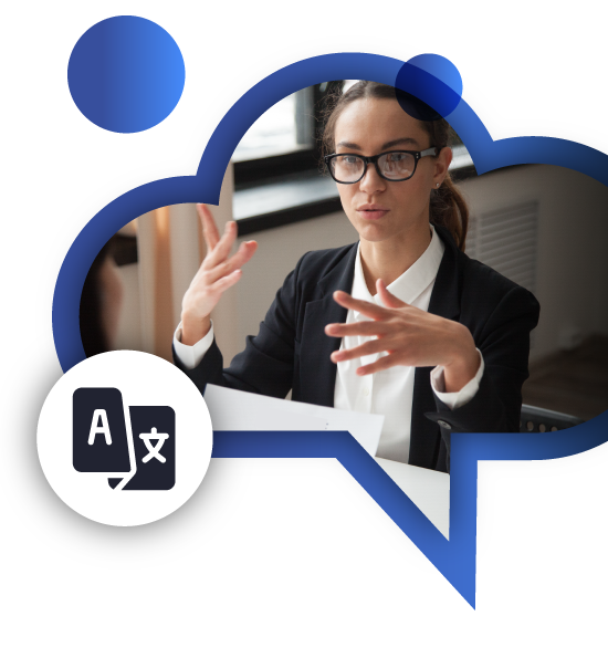 CloudSecretary. Secretaria Virtual. Secretaria con idiomas