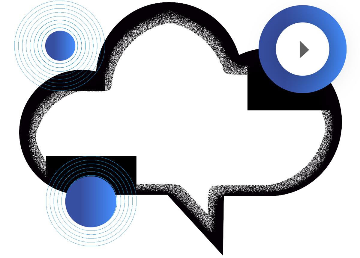 Detalle de diseño para el vídeo corporativo de Cloudsecretary